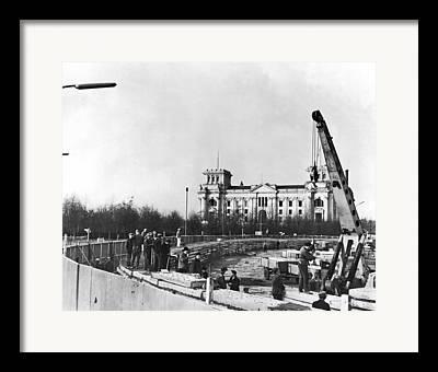 West Berlin Framed Prints