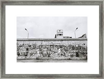 Berlin Wall Freedom Framed Print by Shaun Higson