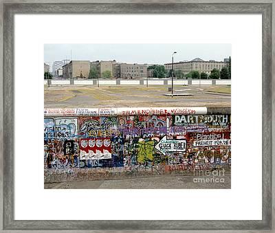 Berlin Wall Framed Print