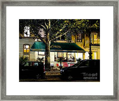Berliner Pilsner Framed Print by Michael Swanson