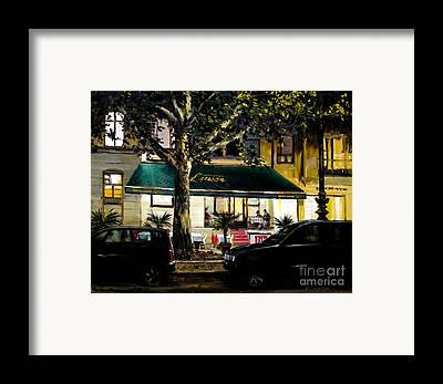 Kurfurstendamm Cafe Framed Prints