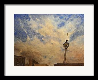 Turm Framed Prints