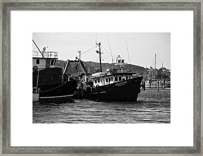 Bermagui Boats Framed Print by Marty  Cobcroft