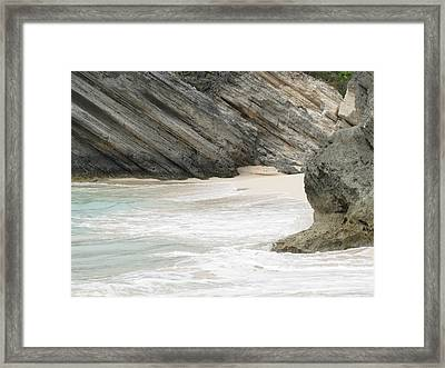 Bermuda Beach Framed Print