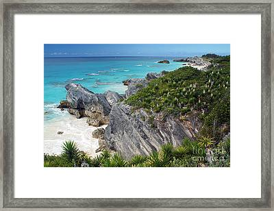 Bermuda Beach Framed Print by Steven Spak