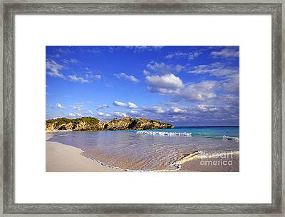 Bermuda Horseshoe Bay Framed Print