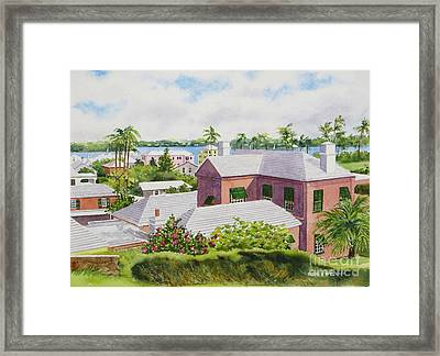 Bermuda Light Framed Print by Karol Wyckoff