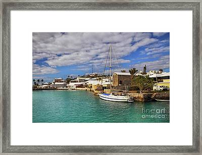 Bermuda St George Harbour Framed Print by Charline Xia