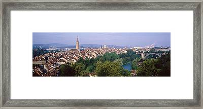 Bern, Switzerland Framed Print by Panoramic Images