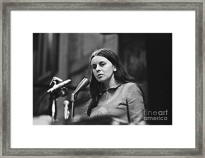 Bernadette Devlin Framed Print by David Vine