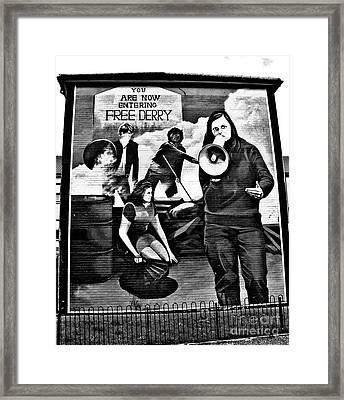 Bernadette Framed Print by Nina Ficur Feenan