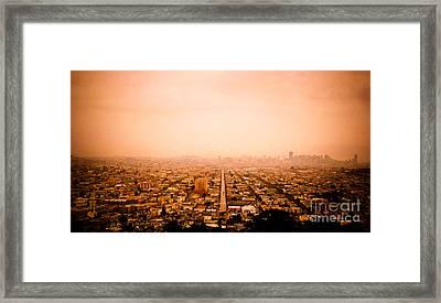 Bernalwood Framed Print by Dan Julien