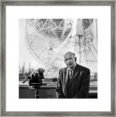 Bernard Lovell Framed Print