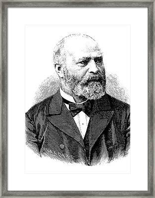 Bernhard Von Gudden Framed Print by Bildagentur-online/tschanz