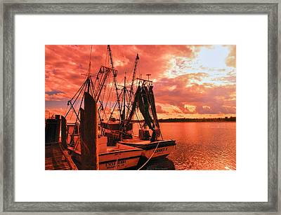 Framed Print featuring the photograph Bernice And Bubba by Dennis Baswell