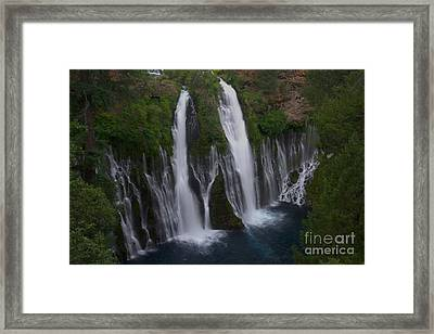 Bernie Falls 1 Framed Print by Jane Axman
