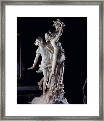 Bernini Gian Lorenzo, Apollo Framed Print by Everett