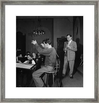 Bernstein & Goodman, C1947 Framed Print by Granger