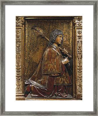 Berruguete, Alonso 1480-1561 Bigarny Or Framed Print by Everett