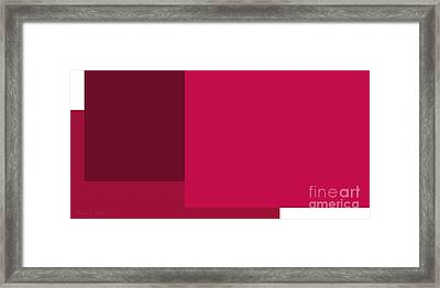 Berry Berry Framed Print by Andee Design