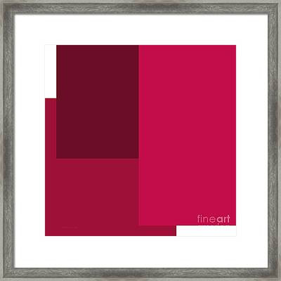 Berry Berry Square Framed Print by Andee Design