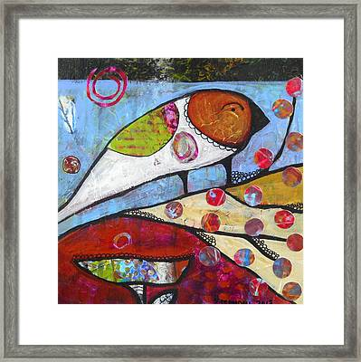 Berry Tree Framed Print by Shannon Crandall
