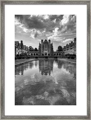 Framed Print featuring the photograph Berry University by Rebecca Hiatt