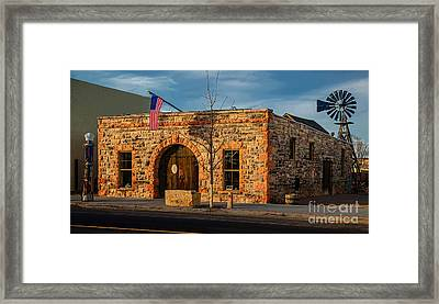 Berthoud Museum Framed Print by Jon Burch Photography