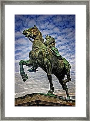 Framed Print featuring the photograph Bertrand Du Guesclin by Elf Evans
