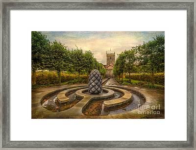 Beside Still Waters Framed Print