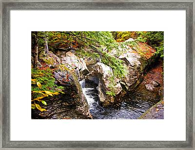 Framed Print featuring the photograph Beside The Water by Bill Howard
