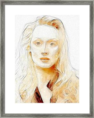 Best Actress Framed Print by Anthony Caruso