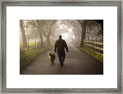 Framed Print featuring the photograph Best Buddies 2 by Sherri Meyer