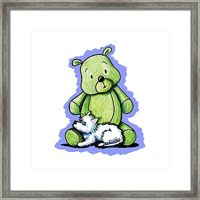 Best Buddies Come In All Sizes Framed Print by Kim Niles