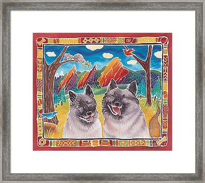 Best Buddies Framed Print by Harriet Peck Taylor