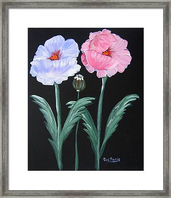 Best Buds Framed Print by Suzanne Theis