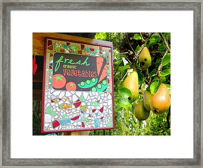 Best Farmstand Framed Print