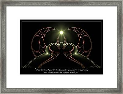 Best For You Framed Print