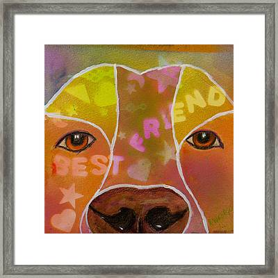 Best Friend Framed Print by Roger Wedegis