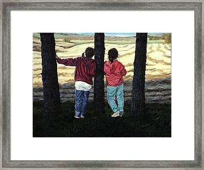 Best Friends - Schomberg Framed Print
