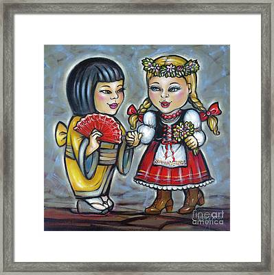 Best Friends 171011 Framed Print