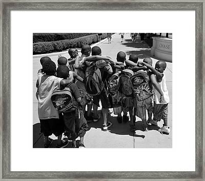 Best Friends Framed Print by Art K