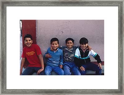 Best Friends Forever Framed Print by Mark Goebel