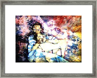 Best Friends Framed Print by Ron Carson