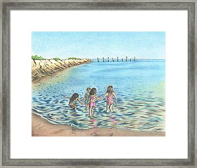 Best Friends Framed Print by Troy Levesque
