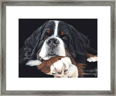 Best In Black Framed Print by Liane Weyers