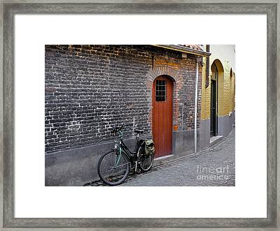 Best Of Brugge Framed Print by Amy Fearn