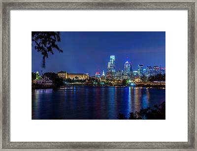 Best Of Philadelphia Framed Print by Paul Tomlin
