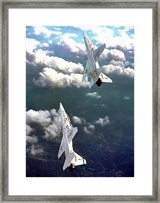 Best Of Times Framed Print by Peter Chilelli