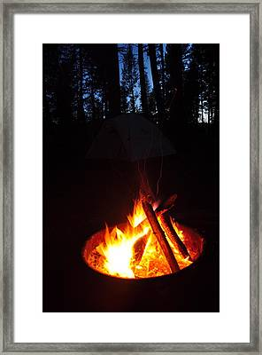 Best Part Of Summer Framed Print by Birches Photography